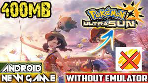 440MB]How To Download Pokemon Ultra Sun And Moon Game On Android || Play  Without Citra Emuluter - King Of Game