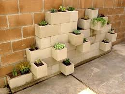 20+ Creative Uses of Concrete Blocks in Your Home and Garden --> Concrete