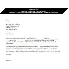 Rescind Letter Of Resignation Use This Writing A Letter Of Resignation Template When Youre Ready
