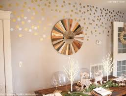 nice inspiration ideas metallic wall decals home design gold silver dorm room modern unique dots amazing