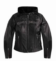 leather harley davidson womens