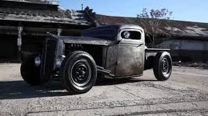 1936 Chevy Bare Metal Chopped Pickup Truck - YouTube