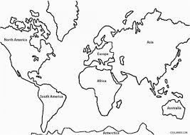 Latin America Map Coloring Page Lovely Blank World Map Classical