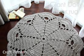 Free Crochet Rug Patterns Awesome Giant Doily Rug Free Crochet Pattern Craft Passion Page 48 Of 48