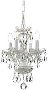 white mini chandelier cl wet white mini chandelier light loading zoom sutton 4 light antique white mini chandelier