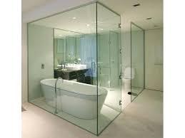 shower glass partition bathroom enclosure dubai