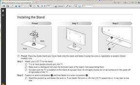 samsung tv base stand. samsung tv stand base 1