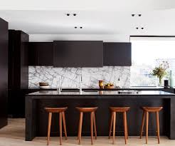 Black Splashback Kitchen Custom Black Stained American Oak Kitchen Joinery By Dsk