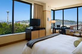 Top  Hotels With A View Space Needle News - Seattle hotel suites 2 bedrooms