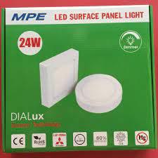 Đèn led ốp trần vuông nổi 24w ánh sáng trắng SSPL-24V MPE