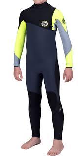 Rip Curl E Bomb Size Chart Rip Curl Junior Flash Bomb 4 3mm Gbs Zip Free Wetsuit Fluro Lemon Wsm6mb