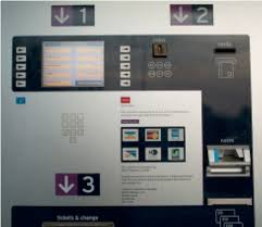 Vending Machine Buttons Delectable The Ticket Vending Machine The Screen Diagonal 48cm Underneath