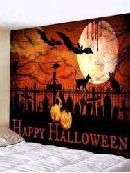 [24% OFF] <b>Halloween Blood Man Pattern</b> Wall Hanging Tapestry ...