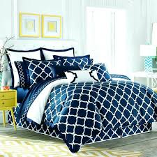 navy blue and white bedding architecture navy and white comforter sets queen links bedding by 5