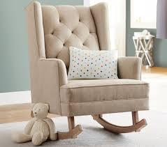 stylish nursery furniture. Modern Tufted Wingback Rocker Stylish Nursery Chairs Furniture N