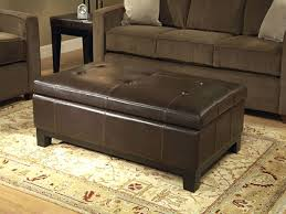 Furniture: Large Ottoman Coffee Table Beautiful Large Leather Ottoman  Coffee Table - Large Tufted Ottoman
