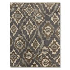 river ikat hand knotted rug