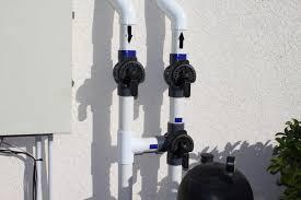 solar pool heat valves closed isolated