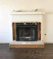 Fresh Ideas Fireplace Base Neat Design Marble Makeover Centsational Style