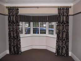 Image of: best bay window curtain rod