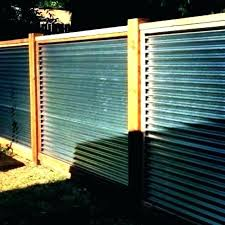 corrugated metal retaining wall galvanized steel panels fence iron roof panel
