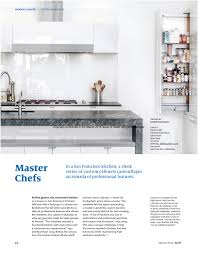 Kitchen Remodel San Francisco Dwell Features Our San Francisco Master Chefs Kitchen Jeff King