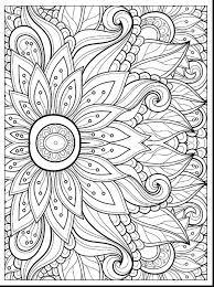 Flower Coloring Pages Coloringrocks