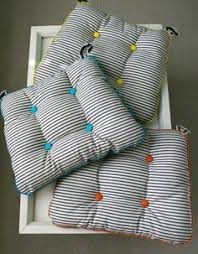 great chair cushion tutorial you should see the other side of these cute