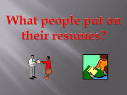 What People Put On Their Resume Funny Youtube