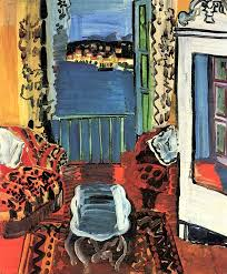 raoul dufy a room in nice 1927 france naive art