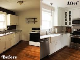 Kitchen Remodeling Before And After Small Kitchen Diy Ideas Before After Remodel Pictures Of Tiny