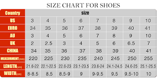 Us Size Chart To China Faithful Shoe Size Chart China Us Size Chart For Shoes Uk