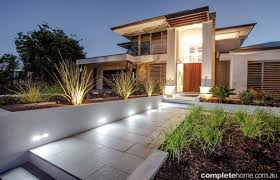 Small Picture This new modern home was crying out for front and rear gardens of
