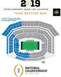 Clemson Tigers Stadium Seating Chart Bay Bound National Title Central Clemson Tigers