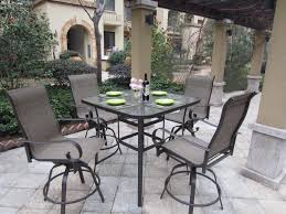 bar height dining table set. Bistro Bar Table And Chairs Outdoor Patio Furniture Set High Top Height Dining Tall