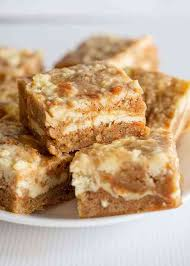 Carrot Cake Bars Cookie Dough And Oven Mitt