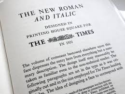 Newspaper Fonts A Brief History Of Times New Roman Typography For Lawyers