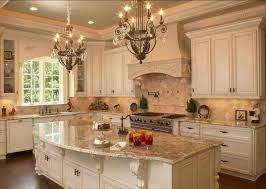 wonderful kitchen design with country light fixtures