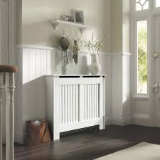 Kensington Medium White Painted Radiator Cover | Departments | DIY at B&Q