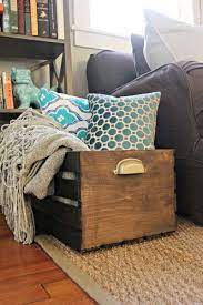 blanket crate can be dun home decor