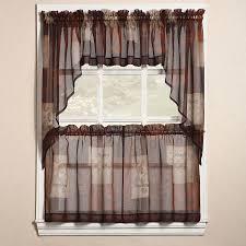Patterns For Kitchen Curtains Interior Designs Beautiful Kitchen Curtains With Fruits Patterns