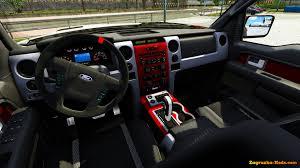 ford trucks raptor interior. ford f150 raptor svt interior for ets 2 trucks