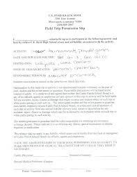 Sample Field Trip Permission Slips Sample Permission Forms Tournament Publicity Tools School