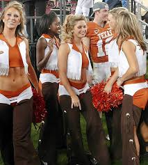 Image result for university of texas at austin football cheerleaders