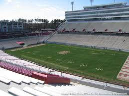 Carter Finley Stadium Seating Chart Rows Carter Finley Stadium View From Upper Level 9 Vivid Seats