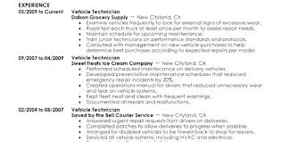 Resume For Auto Mechanic Fascinating Automotive Mechanic Resume Sample Auto Objective Platformeco