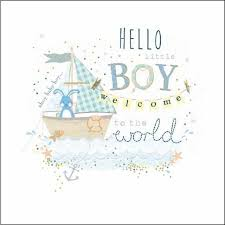 Welcome To Christian World Quotes Best of Little Boy Welcome To The World Card From Ocado
