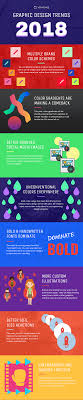 massive work cool colors. Graphic Design Trends 2018 Massive Work Cool Colors