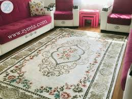 Elastic Carpet Cover Silk 200 x 300 cm - Colored
