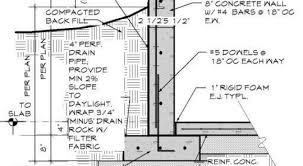 basement wall design. Exellent Wall Retaining Wall Basement Google Search Detail To Design T